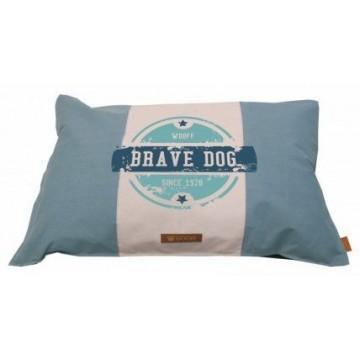 Wooff Colchon Brave Dog Soft Blue M 70x100cm