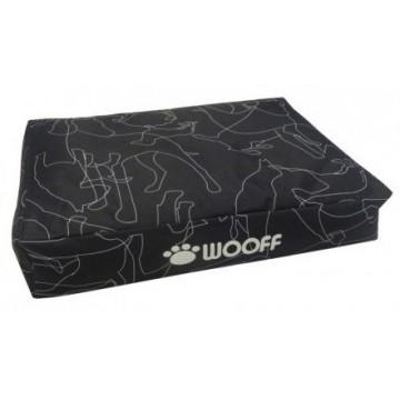 Wooff Colchon All Weather Black L 70x110x15cm