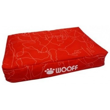 Wooff Colchon All Weather Red L 70x110x15cm