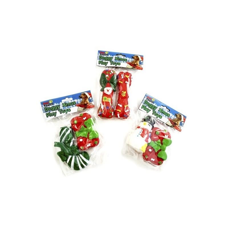 Juguete Vinilo Navidad Pack 2Uds.