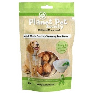 Planet Pet Stick Pollo y Arroz 80gr