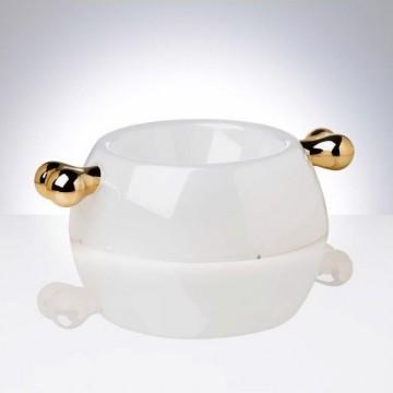 Comedero Transparent Oro M 500ml Bellomania