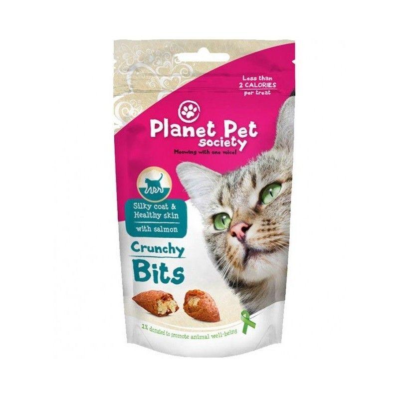 Planet Pet Gato Bites pelo y piel 40gr