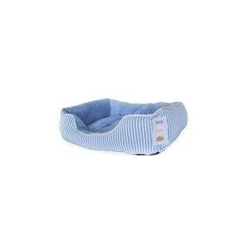 Cama rizo Azul-Blanca L 71x58x22 cm