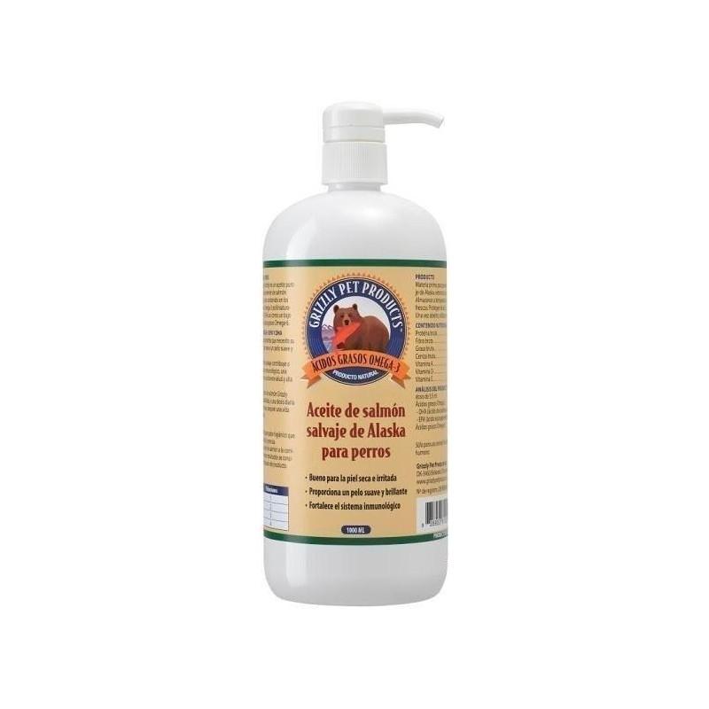 Aceite de Salmon 1000 ml Grizzly
