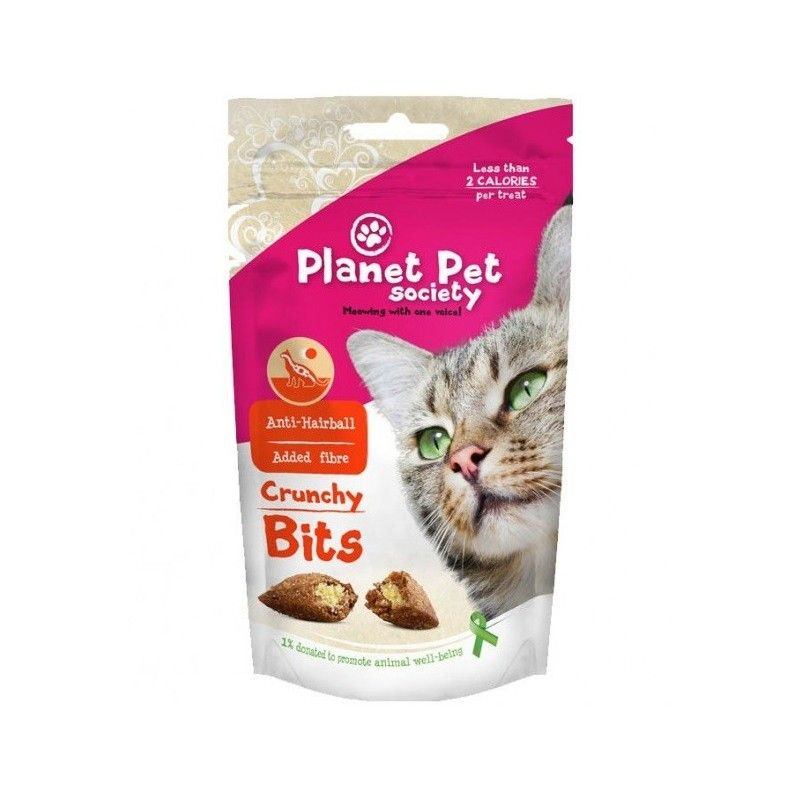 Planet Pet Gato Bites anti Hairball 40gr