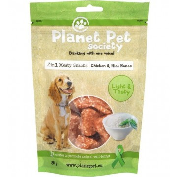 Planet Pet Huesitos pollo y arroz 80gr