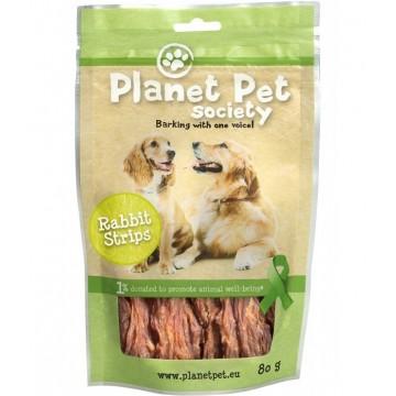Planet Pet Snack tiras de conejo 80 gr