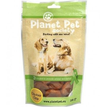 Planet Pet Chip de pollo 100gr.