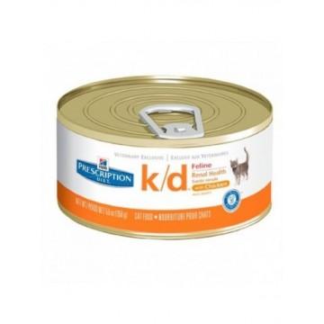 Hills Diet Feline k/d 24x156 gr
