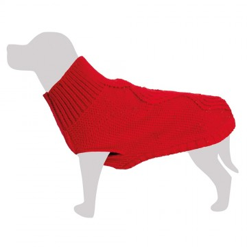 """Jersey """"Terry"""" lana rojo"""