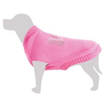 Jersey rosa con hueso