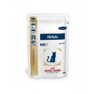Royal Canin Diet Feline Renal Pollo 12x85 sobres