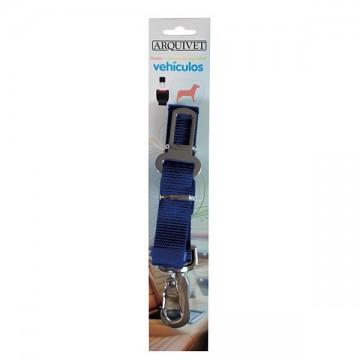 Tirador cinturon seguridad regulable Azul