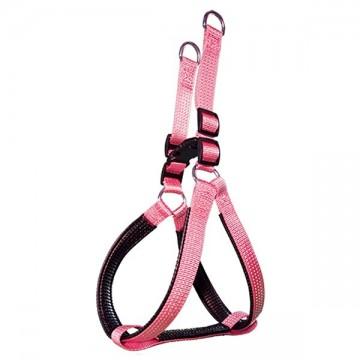 Arnés nylon liso rosa