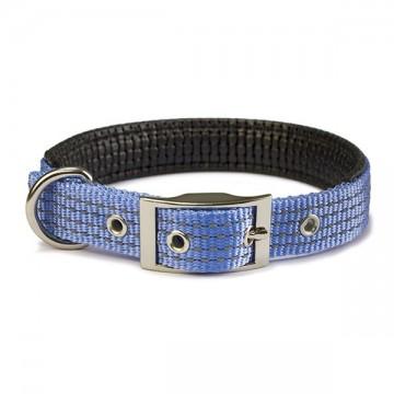 Collar nylon liso azul cielo