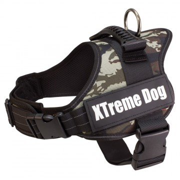 Arnés Xtreme Dog Camuflaje