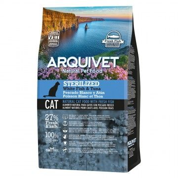 Arquivet Cat Sterilized White Fish & Tuna