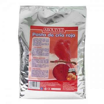 Pasta de cría roja