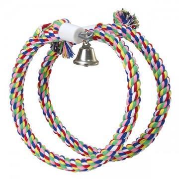 Aros de colores y campana