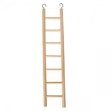 Escalera madera para pájaros 7 peldaños